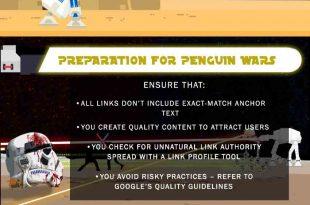 اینفوگرافیک تاریخچه الگوریتم پنگوئن