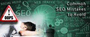 اشتباهات رایج در بهینه سازی وب سایت