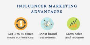 INFLUENCER-MARKETING-ADVANTAGES- مزایای بازاریابی از طریق افراد سرشناس