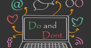 در شبکههای اجتماعی چه کار کنیم و چه کار نکنیم