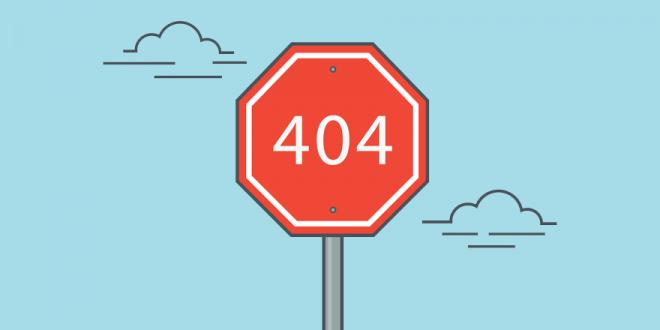 خطای ۴۰۴: داستان صفحهای که پیدا نمیشود
