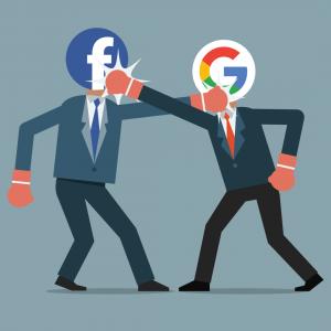 اینفوگرافیک: تفاوت شرایط کار در فیسبوک با گوگل