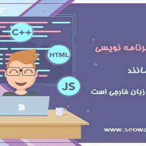 کسب مهارت برنامه نویسی مانند یادگیری زبان خراجی